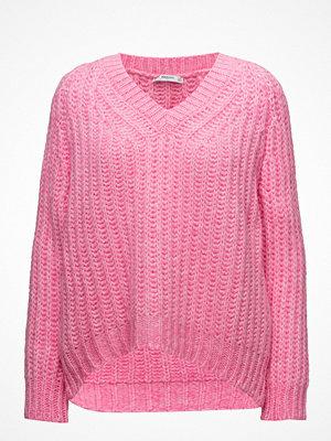 Mango V-Neckline Oversize Sweater