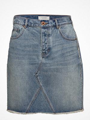 Scotch & Soda Seasonal Denim Skirt - Customized Blauw