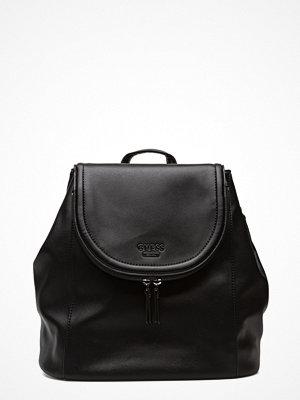 Guess svart ryggsäck Erra Large Backpack