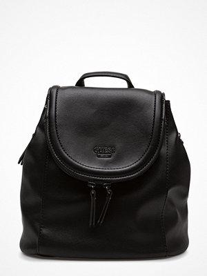 Guess svart ryggsäck Erra Backpack