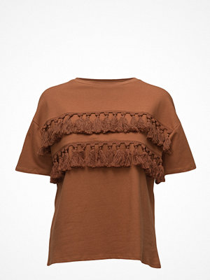 Mango Pom Pom Cotton T-Shirt