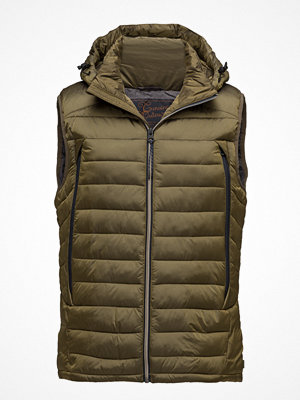 Västar - Scotch & Soda Quilted Bodywarmer In Nylon Quality With Removable Hood
