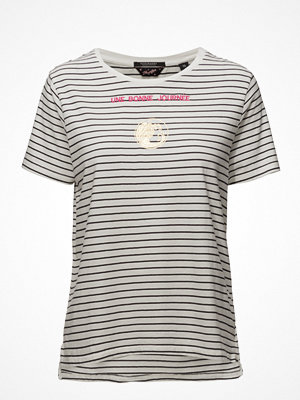 Scotch & Soda Short Sleeve Tee With French Inspired Artworks