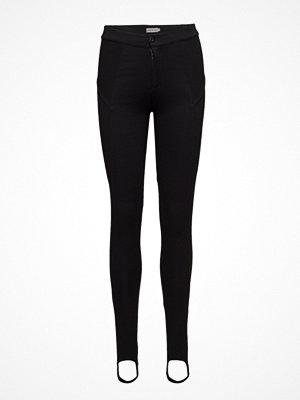 Calvin Klein Jeans svarta byxor Hc High Rise Stirrup