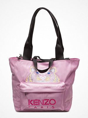 Kenzo shopper med tryck Bag Has Back Main