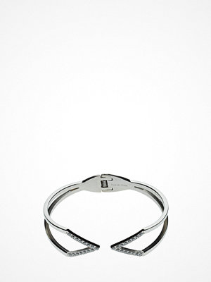 Bud to rose smycke V Crystal Bangle