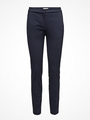 Gant marinblå byxor G. Tailored Jersey Pants