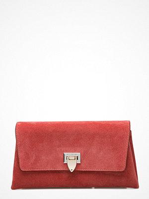 Decadent röd kuvertväska Small Clutch W/Buckle