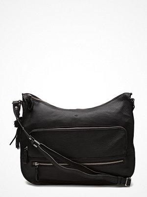Adax svart axelväska Ruby Shoulder Bag Puk