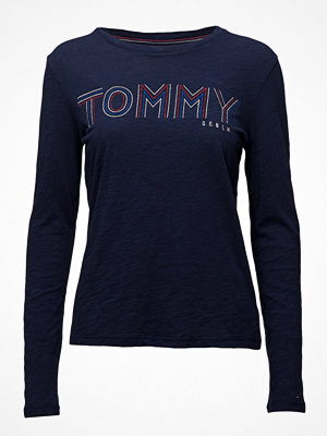 Tommy Jeans Thdw Cn T-Shirt L/S,