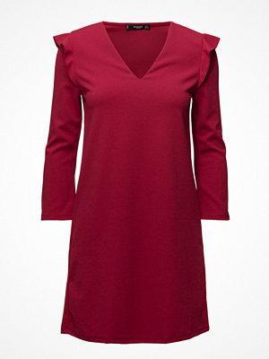 Mango Ruffled Sleeve Dress