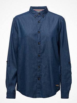 Skjortor - Edc by Esprit Shirts Denim