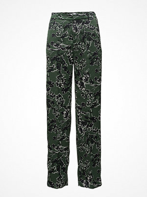 Mango mönstrade byxor Floral Print Trousers