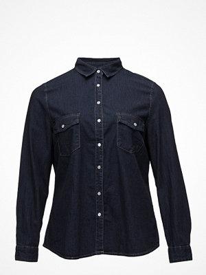 Skjortor - Violeta by Mango Dark Denim Shirt