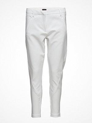 Fiveunits vita byxor Angelie 238 Zip, White Jeggin, Pants