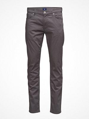 Jeans - Gant O Slim Straight Satin Jean