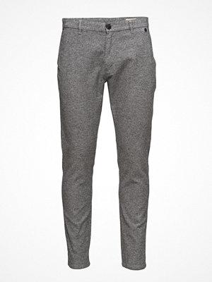 Byxor - Selected Homme Shharval Salt/Pepper Slim St Pants Sts