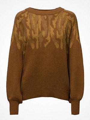 Selected Femme Sfdrama Ls O-Neck Knit