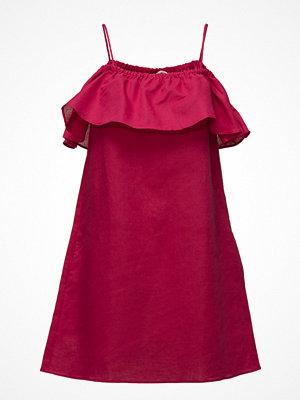 Mango Ruffled Off-Shoulder Dress