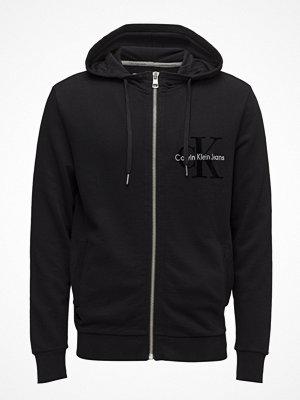 Street & luvtröjor - Calvin Klein Jeans Haws 5 Gmd Hoodie Zi