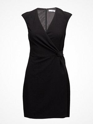 Mango Wrap Neckline Dress