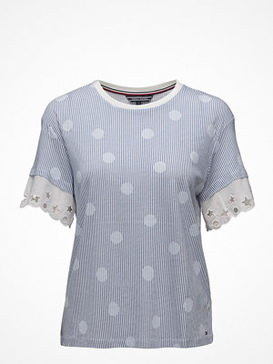 Tommy Hilfiger Abner C-Nk Lace Top,