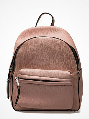Mango beige ryggsäck Pebbled Backpack