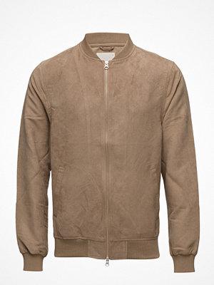Knowledge Cotton Apparel Suede Jacket - Grs