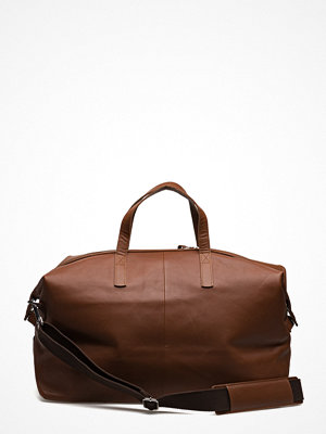 Sandqvist brun weekendbag Holly Leather
