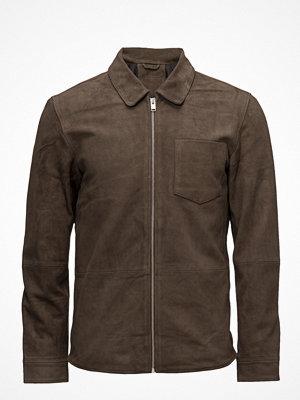 Skinnjackor - Selected Homme Shndavid Suede Shirt Jacket