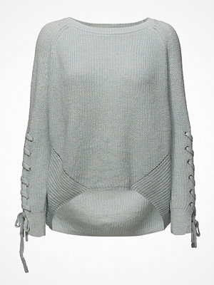 Only Onlnoleta L/S Lace Up Pullover Knt
