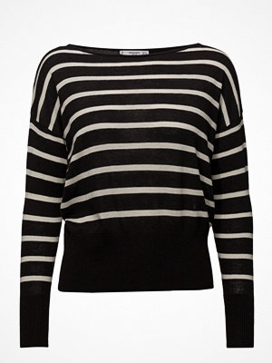 Mango Fine-Knit Striped Sweater