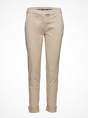 Tommy Hilfiger omönstrade byxor Moa Skinny Chino Gmd