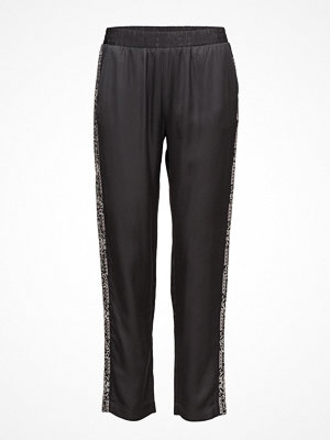 Odd Molly svarta byxor med tryck Plume Pants