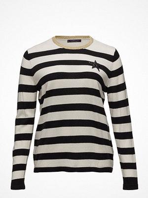 Violeta by Mango Striped Appliqu Sweater