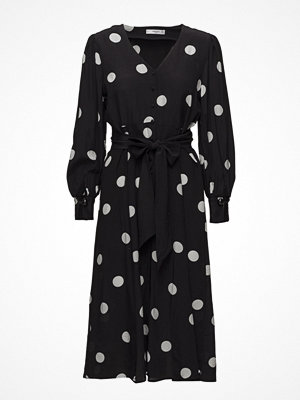 Mango Bow Polka-Dot Dress