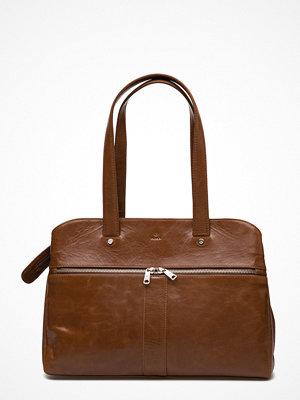 Adax brun weekendbag Salerno Handbag Katia