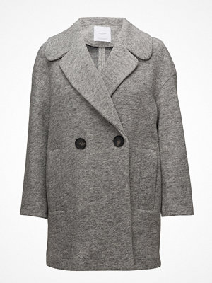 Mango Unstructured Wool-Blend Coat
