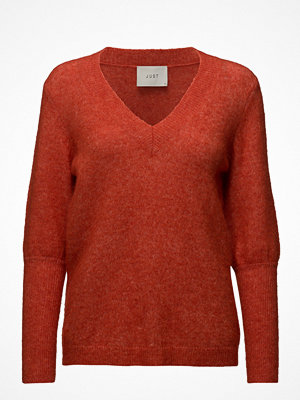 Just Female Chinne V Neck Knit