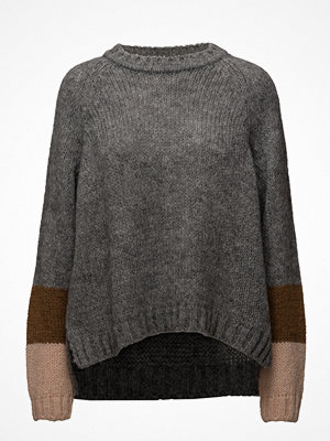 Rabens Saloner Deco Knit Oversized Sweater