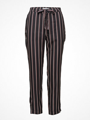 Mango svarta randiga byxor Striped Trousers