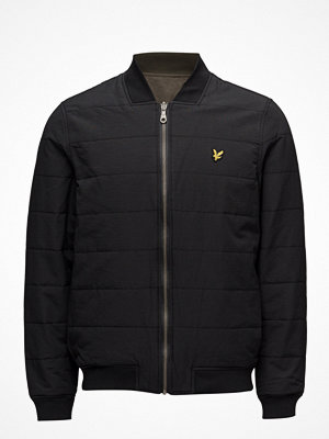 Lyle & Scott Reversible Bomber Jacket