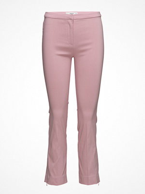 Mango omönstrade byxor Zipped Straight Trousers