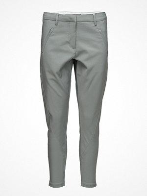 Fiveunits grå byxor Angelie 238 Zip, Silentio Jeggin, Pants