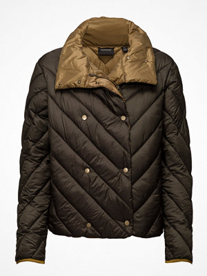 Scotch & Soda Nylon Double Breasted Quilted Jacket