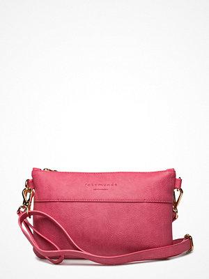 Rosemunde rosa kuvertväska Clutch