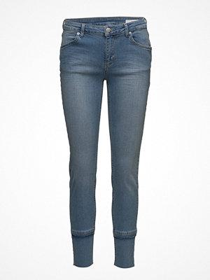 2nd One Nicole 829 Crop, Raw Blue Voyage, Jeans