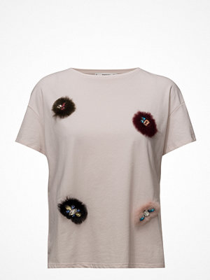Mango Embroidered Detail T-Shirt
