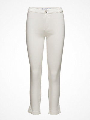 Mango vita byxor Slim-Fit Stretch Trousers