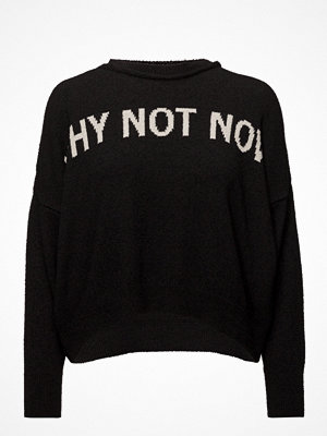 Mango Embroidered Message Sweater